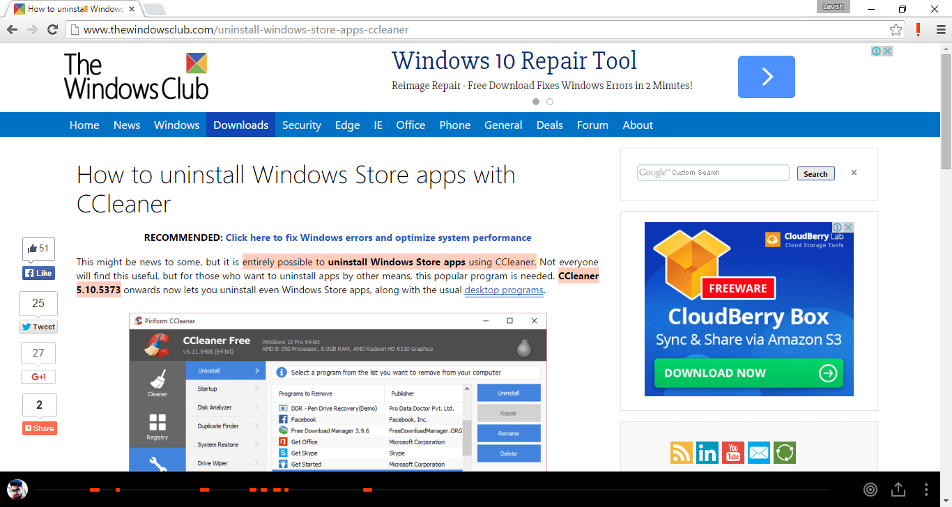 Altamente para Chrome te permite resaltar y compartir el contenido de una página web 2