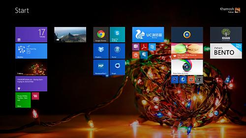 Temas de Navidad para Windows 8.1/8