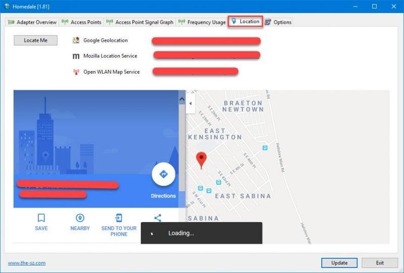 Mida la intensidad de su señal Wi-Fi con Homedale para Windows 10