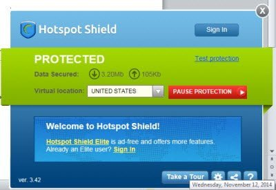 Revisión y descarga gratuita de Hotspot Shield VPN