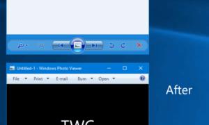 Cómo cambiar el color de fondo del Visualizador de fotos de Windows