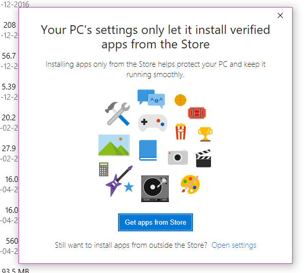 Cómo bloquear las instalaciones de aplicaciones de terceros en Windows 10