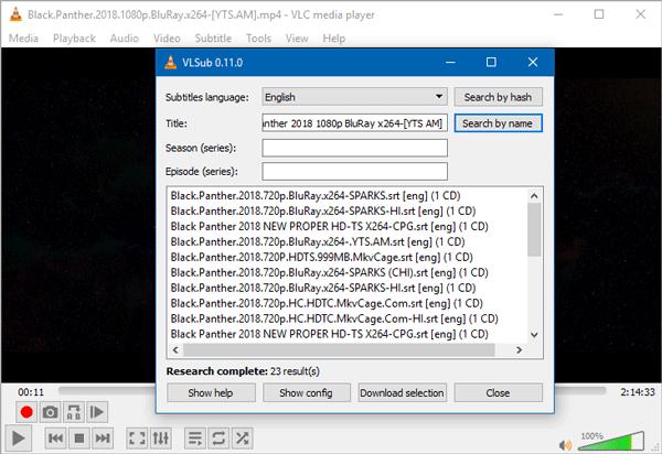 Cómo descargar subtítulos en VLC media player