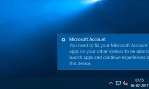 Necesita corregir el error de su cuenta de Microsoft para aplicaciones en Windows 10