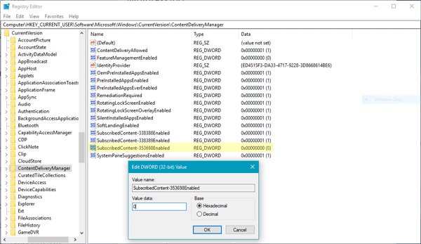 Cómo ocultar sugerencias en la línea de tiempo en Windows 10