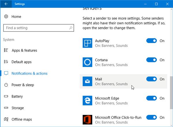 Cómo establecer la prioridad de las notificaciones en el Centro de actividades de Windows 10 1