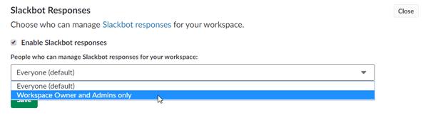 Cómo configurar y utilizar la respuesta automática en Slack