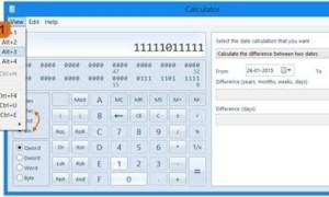 Cómo usar Windows Calculator para convertir Decimales a Binarios