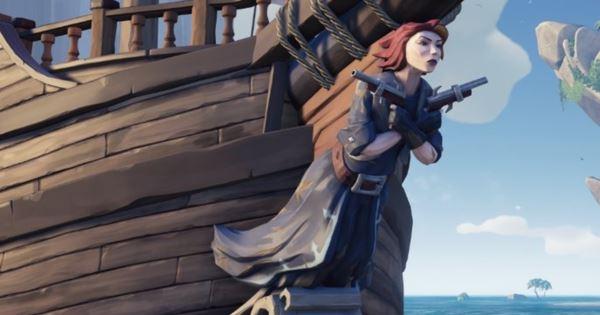 Cómo desbloquear El Mar de los Ladrones La Fantasma de la Cazadora 1