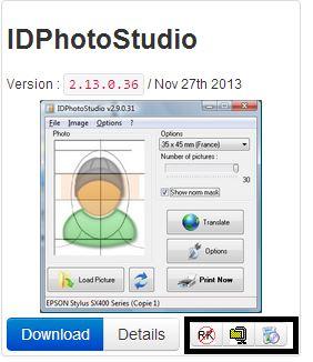IDPhotoStudio: Cree fotos del tamaño de un pasaporte a partir de sus fotos digitales
