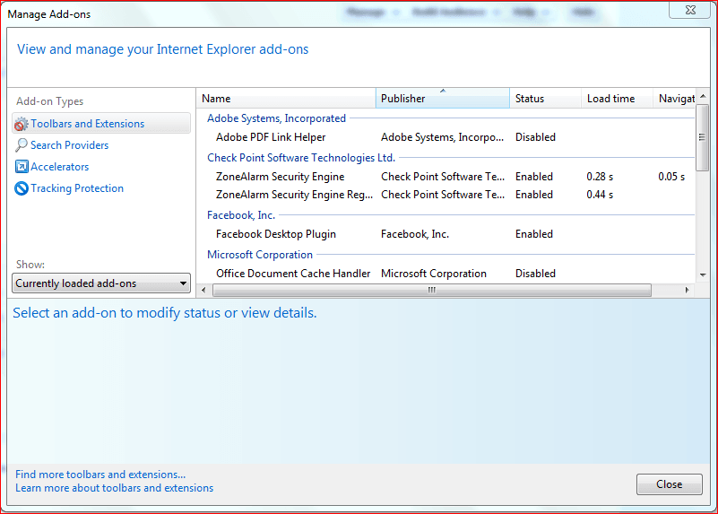 Corrección: Uso de la memoria alta de Internet Explorer