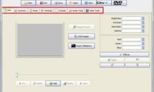 Cree presentaciones de diapositivas profesionales con IMGDissolver