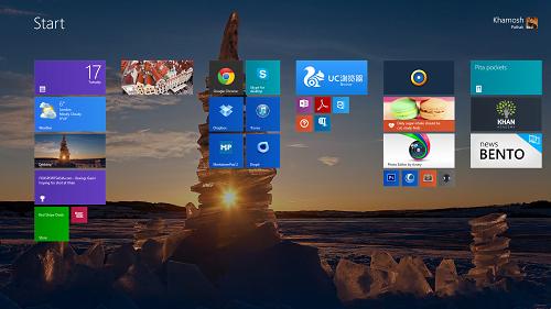 Temas de Navidad para Windows 8.1/8 2