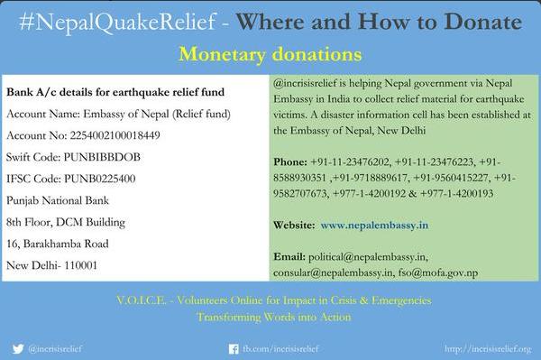 Hemos hecho donaciones al Fondo de Ayuda a las víctimas del terremoto de Nepal. Tú también puedes marcar la diferencia!