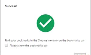 Importar marcadores, contraseñas a navegador Chrome desde otro navegador