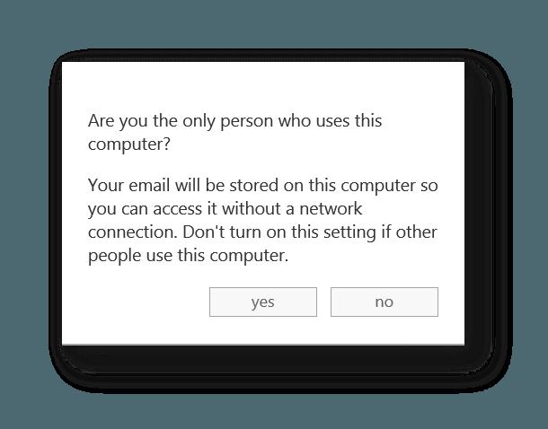 Cómo usar Outlook Web App sin conexión 3