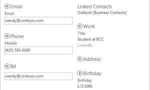 Novedades en Microsoft Office People Hub