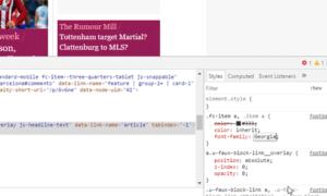 Consejos para utilizar el elemento de inspección del navegador Google Chrome