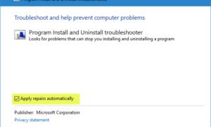 Error de instalación de Skype con el código de error 1603 en Windows 10