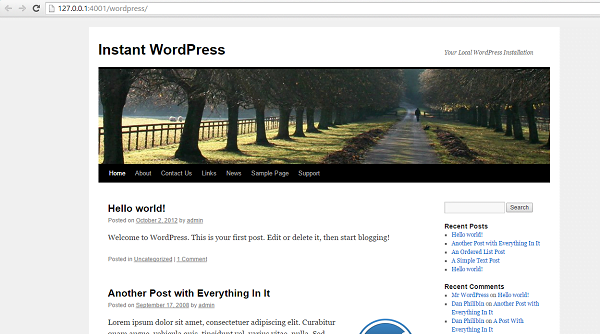 Cómo instalar WordPress en un PC con Windows
