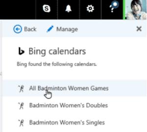 La función Calendario de interés de Outlook le permite realizar un seguimiento de los eventos importantes.