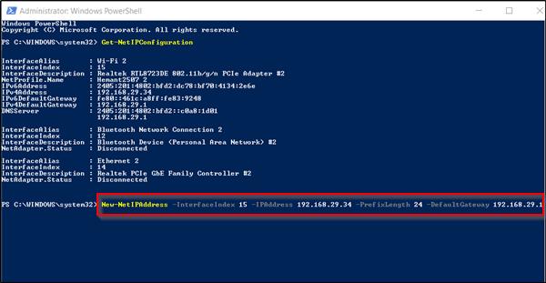 Cómo establecer una dirección IP estática en Windows 10