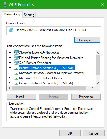 \El servidor no es accesible, puede que no tengas permiso para usar este recurso de red.