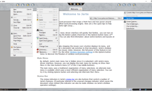 Jarte es un procesador de texto portátil y gratuito para Windows PC.