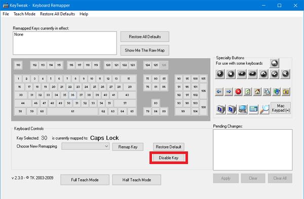 La tecla de bloqueo de mayúsculas no funciona? Activar o desactivar el bloqueo de mayúsculas en Windows 10