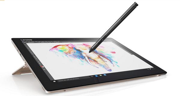 Lenovo Miix 720, tableta con pantalla táctil + portátil viene con un lápiz táctil de entrada sensible