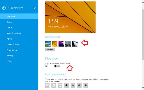 Configuración de personalización en Windows 10 5
