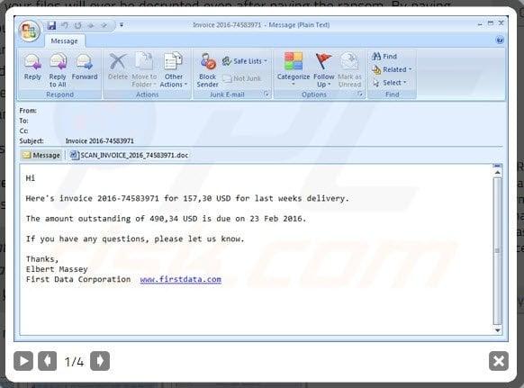 Locky Ransomware es mortal! Aquí está todo lo que usted debe saber sobre este virus. 1