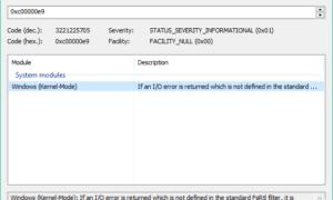 Códigos de error de Windows y herramientas de búsqueda de mensajes