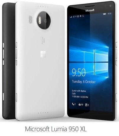 Lumia 950 y Lumia 950XL: Características, especificaciones, precio y disponibilidad