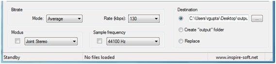 Reducir el tamaño de los archivos MP3 con el modificador de calidad MP3
