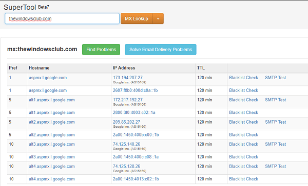 Herramientas de búsqueda de DNS gratuitas y servicios en línea