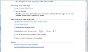 Hacer que el cursor del ratón parpadeante de Windows sea más grueso