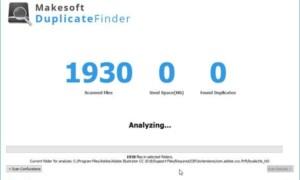 Encuentre y elimine archivos duplicados con Makesoft DuplicateFinder