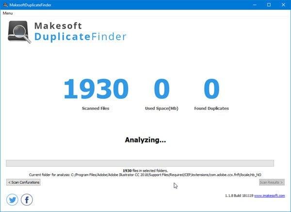 Encuentre y elimine archivos duplicados con Makesoft DuplicateFinder 2