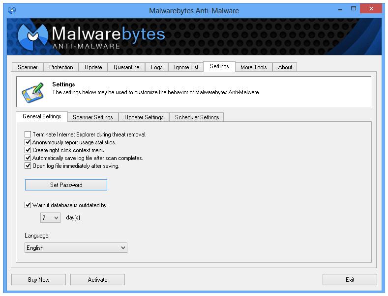 Malwarebytes Anti-Malware Free: Revisar y descargar