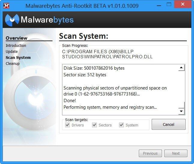 Descargar Malwarebtytes Anti-Rootkit para Windows