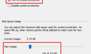 Carpeta de información de volumen del sistema en Windows 10