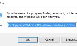 Solucionar problemas y problemas de sincronización de OneDrive en Windows 10