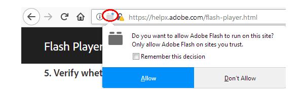 Videos, sonidos, imágenes y animaciones que no funcionan en Firefox
