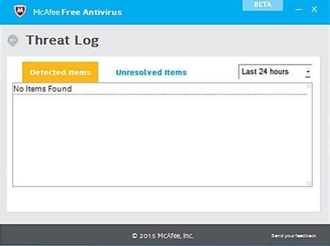 McAfee Free Antivirus para PC con Windows 2