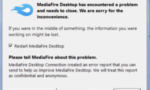 Revisión del almacenamiento en la nube de MediaFire