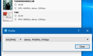El lote de MediaHuman Audio Converter convierte múltiples archivos de audio