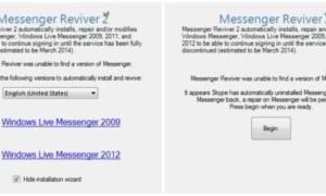 Messenger Reviver 2: Instalar Windows Live Messenger en Windows 8 / 8.1