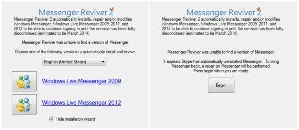 Messenger Reviver 2: Instalar Windows Live Messenger en Windows 8 / 8.1 1