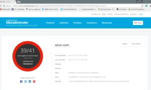 Extensión Metadefender Chrome: Analice los archivos con 41 programas antimalware antes de descargarlos.
